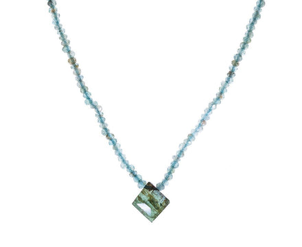 Aquamarine and Tourmaline Necklace - TWISTonline
