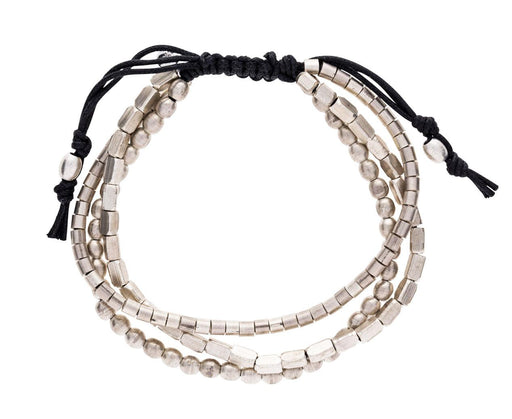 Men's Nickel Bead Triple Strand Bracelet - TWISTonline