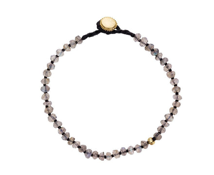 Labradorite and Gold Vermeil Beaded Bracelet - TWISTonline
