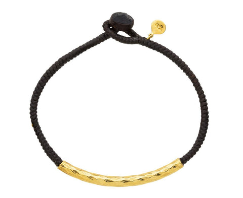Gold Tube Bracelet - TWISTonline