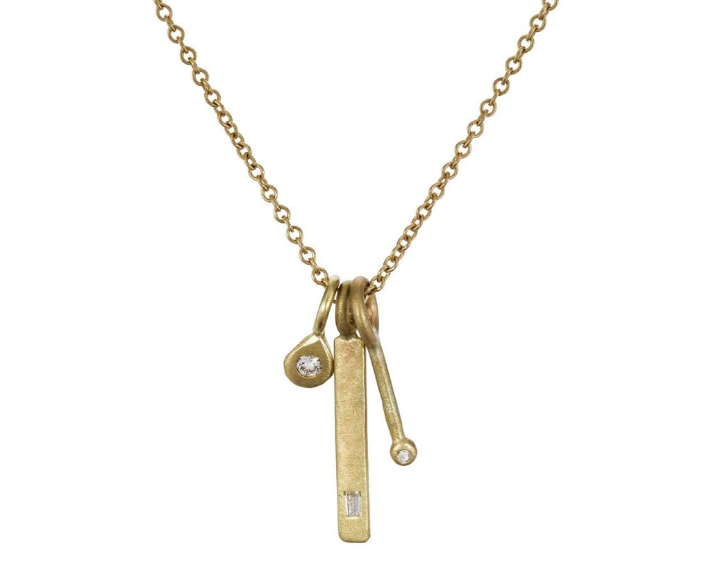 Gold and Diamond Trinket Necklace - TWISTonline