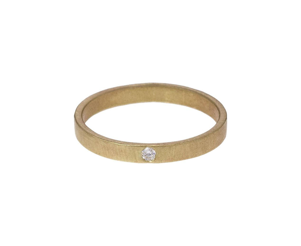 Smooth Rolled Diamond Band - TWISTonline
