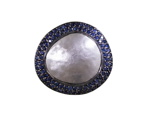 Fuji Ring with Blue Sapphires - TWISTonline