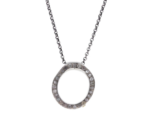 Icy White Diamond Olympe Necklace