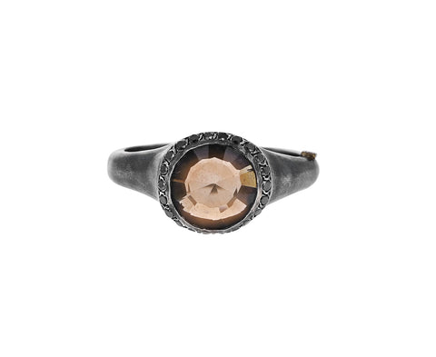Smoky Quartz Beril Ring