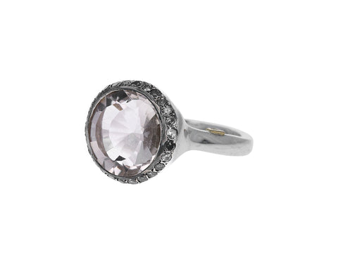 Gray Diamond Topaz Julia Ring