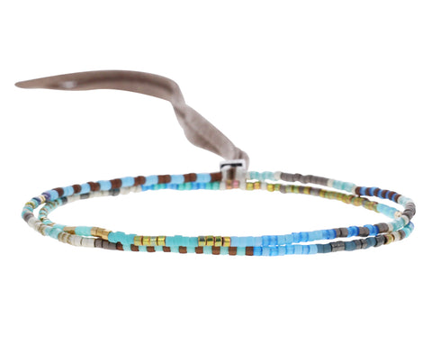 Sur Beaded Wrap Bracelet / Necklace