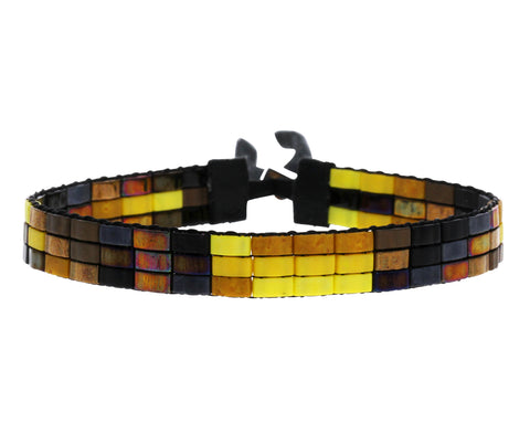 London Tile Beaded Bracelet