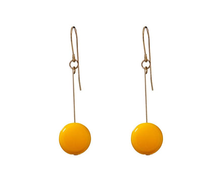 Marigold Circle Drop Earrings - TWISTonline