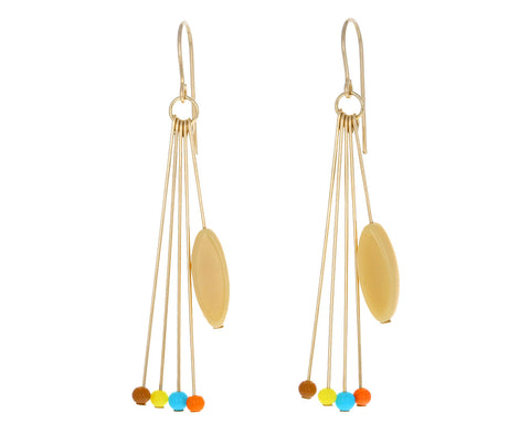 Party Fringe Bead Earrings