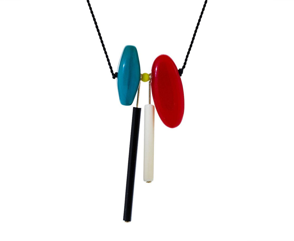 80's Abstract Bead Pendant - TWISTonline