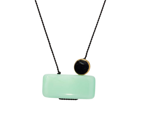 Minty Pendant Necklace