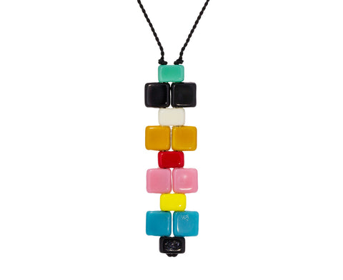 60's Mosaic Pendant Necklace - TWISTonline