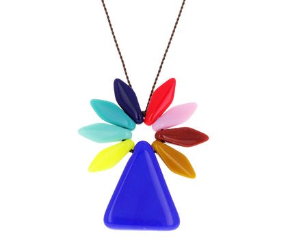 Flower Vase Pendant Necklace