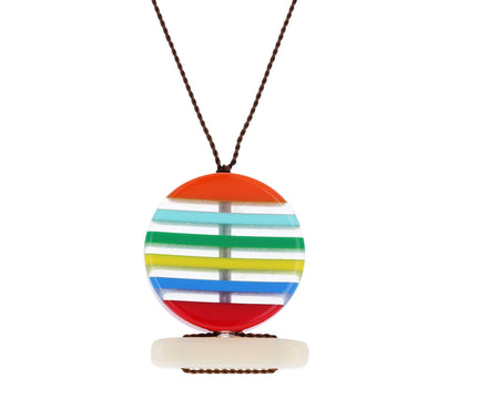 Sunset Bar Pendant Necklace