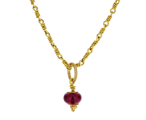 Ruby Tassel Pendant ONLY - TWISTonline