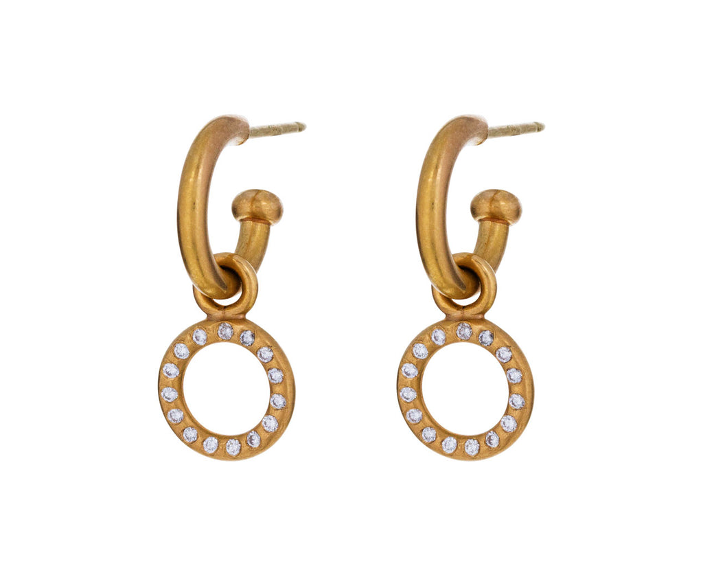 Tiny Apricot Gold Diamond Drops ONLY - TWISTonline