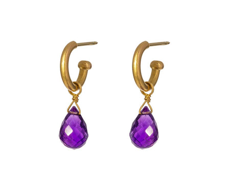 Faceted Amethyst Drops ONLY - TWISTonline