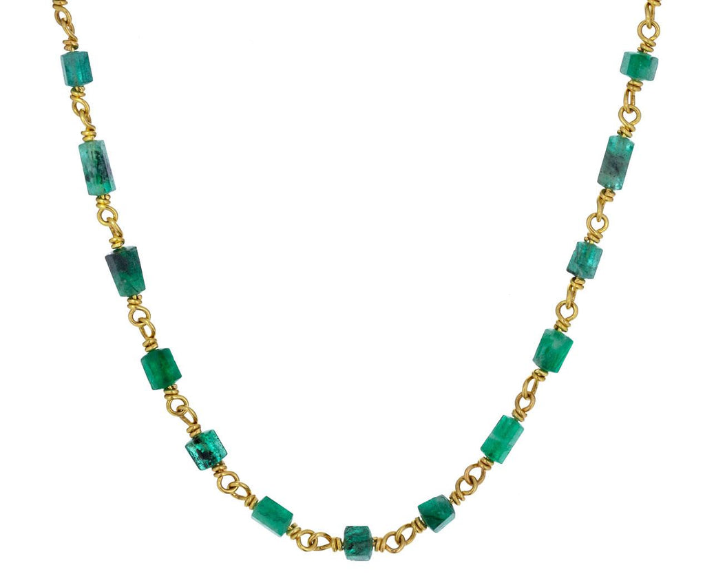 Rough Emerald Isabella Necklace - TWISTonline