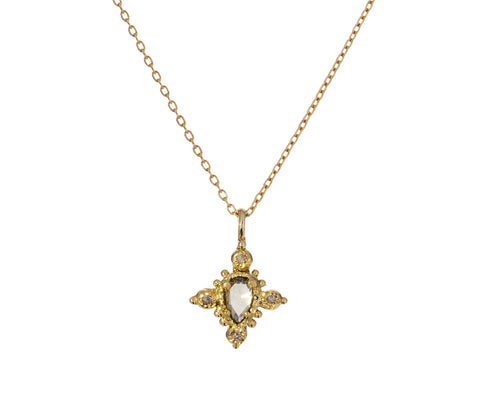Natural Diamond Pendant Necklace - TWISTonline
