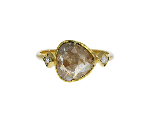 Natural Brown Diamond Ring - TWISTonline