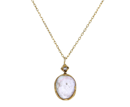 Tourmaline and Diamond Pendant Necklace - TWISTonline
