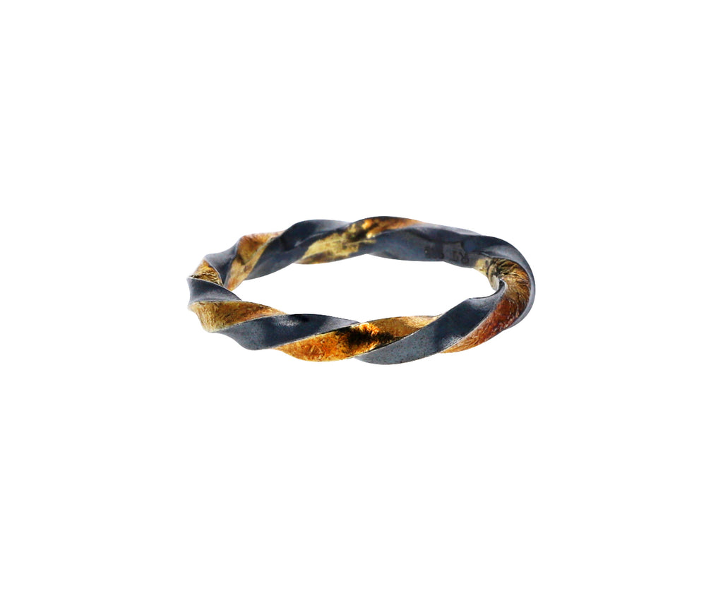 Gold and Diamond Twist Band