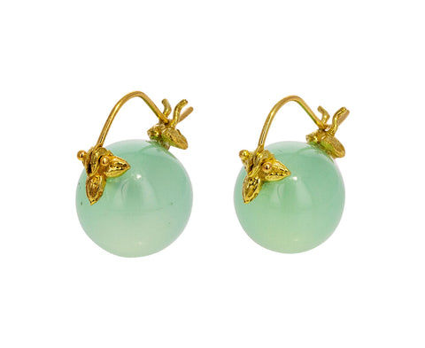 Aqua Opal Earrings - TWISTonline