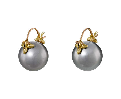 Tahitian Pearl Earrings - TWISTonline