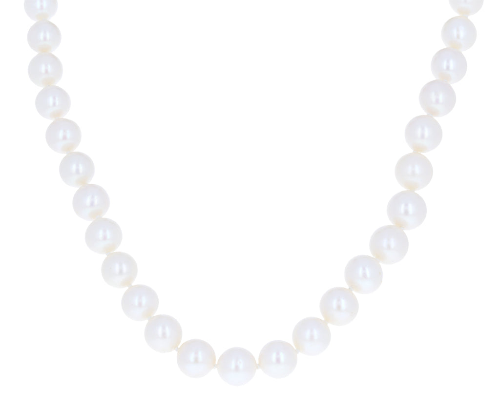 White Freshwater Pearl Necklace - TWISTonline