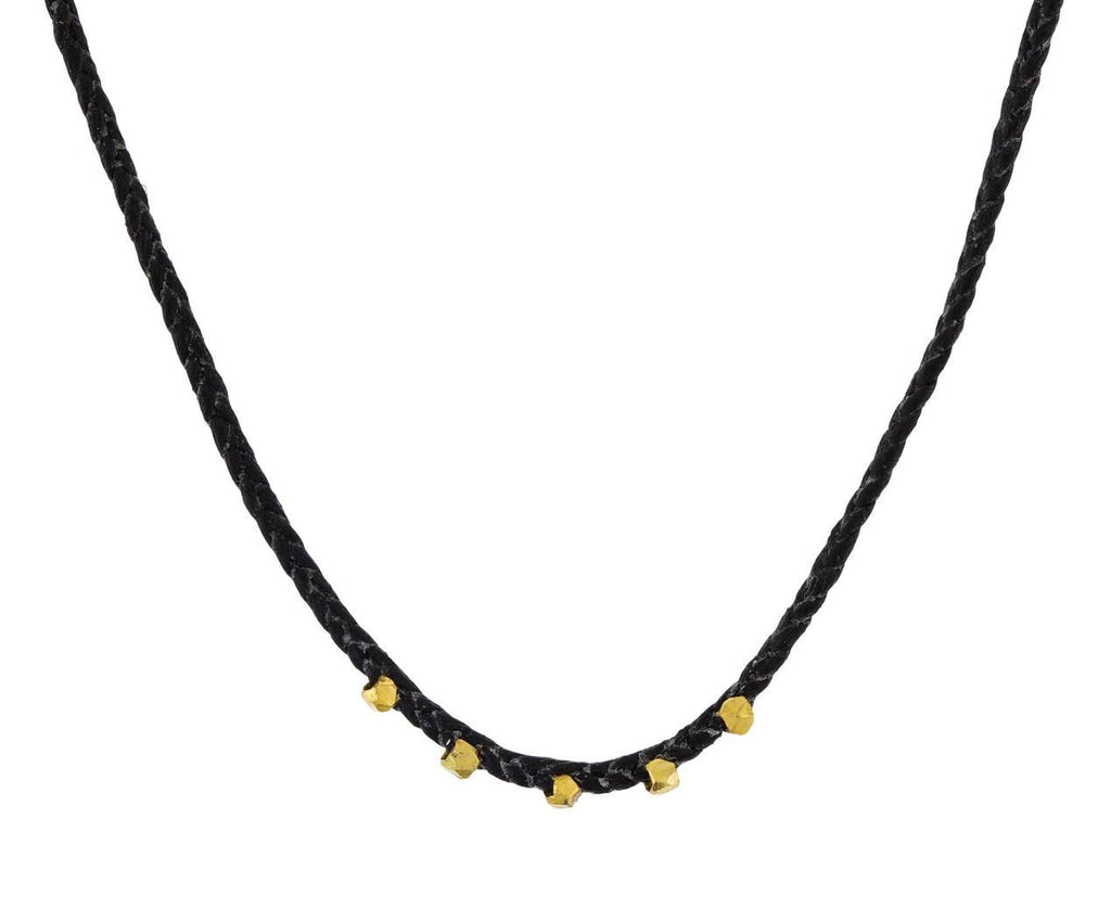 Brass Easygoing Choker Necklace - TWISTonline
