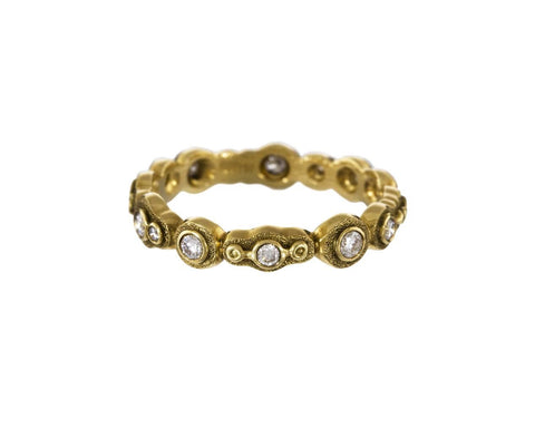 Gold and Diamond Submarine Ring - TWISTonline