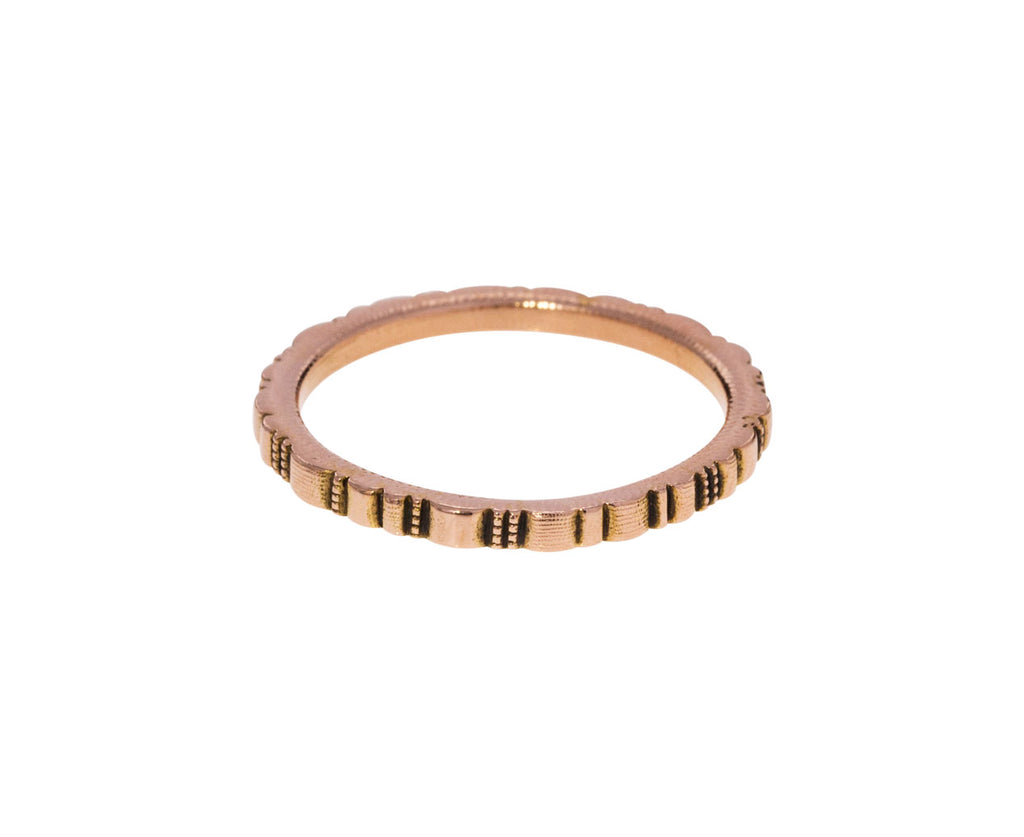 Rose Gold Ridges Band - TWISTonline