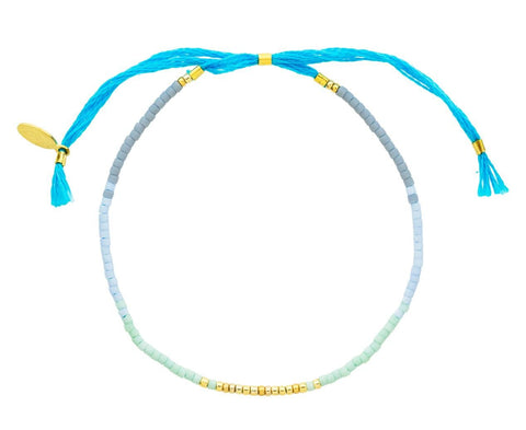 Blue Beaded Sam Bracelet - TWISTonline