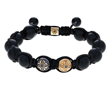 Black Onyx Star Bead Bracelet - TWISTonline