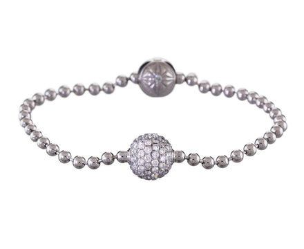 White Gold and Diamond Royal Bracelet - TWISTonline