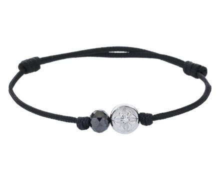 Diamond Shamballa Star Bead Bracelet - TWISTonline