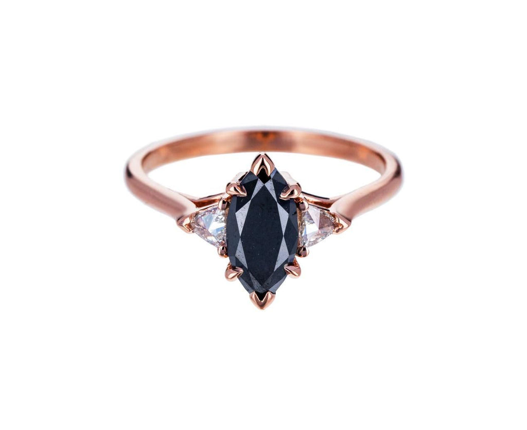 Black Diamond Bea Solitaire zoom 1_anna_sheffield_gold_diamond_marquis_bea_ring