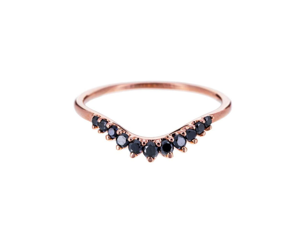 Black Diamond Tiara Curve Band zoom 1_anna_sheffield_gold_diamond_tiara_curve_ring