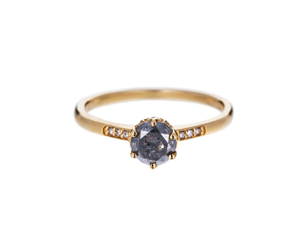 Gray Diamond Hazeline Solitaire zoom 1_anna_sheffield_gold_diamond_hazeline_ring
