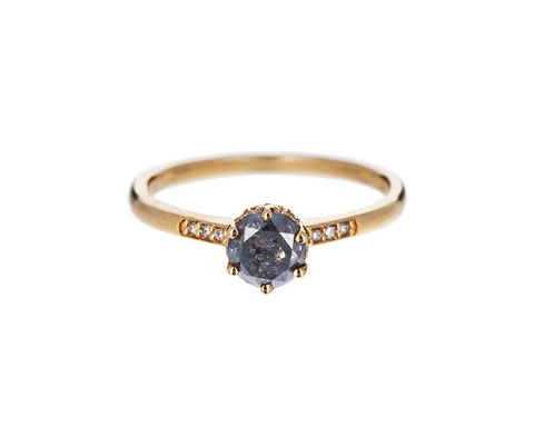 Gray Diamond Hazeline Solitaire - TWISTonline
