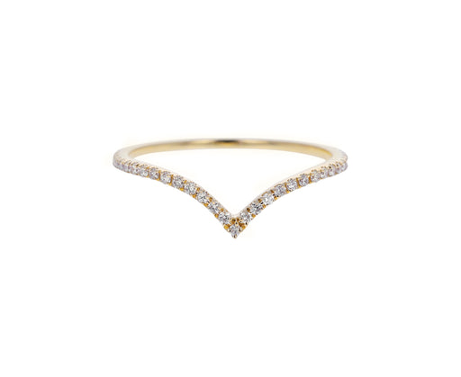 Yellow Gold Diamond Eleonore Orbit Band