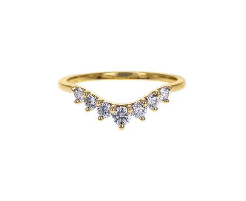 Brooke Gregson Diamond Cosmic Tiara Curve Band