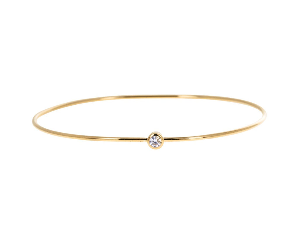 Diamond Hoop Bracelet
