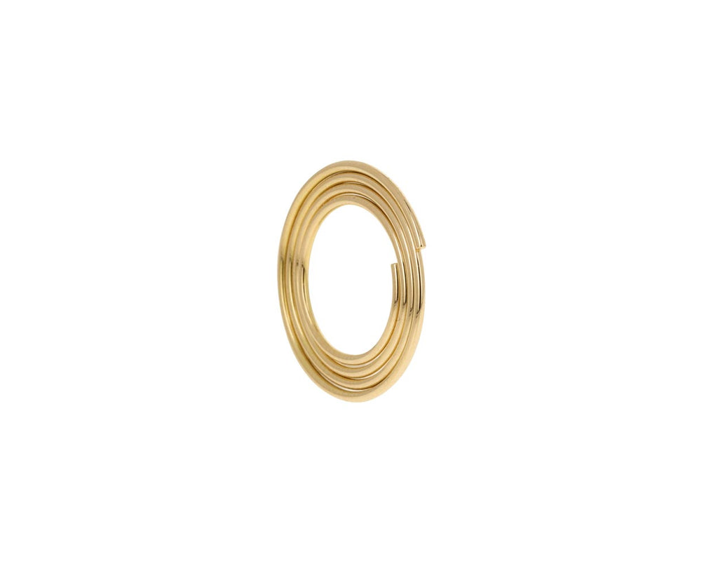 Flat Hoop SINGLE Earring