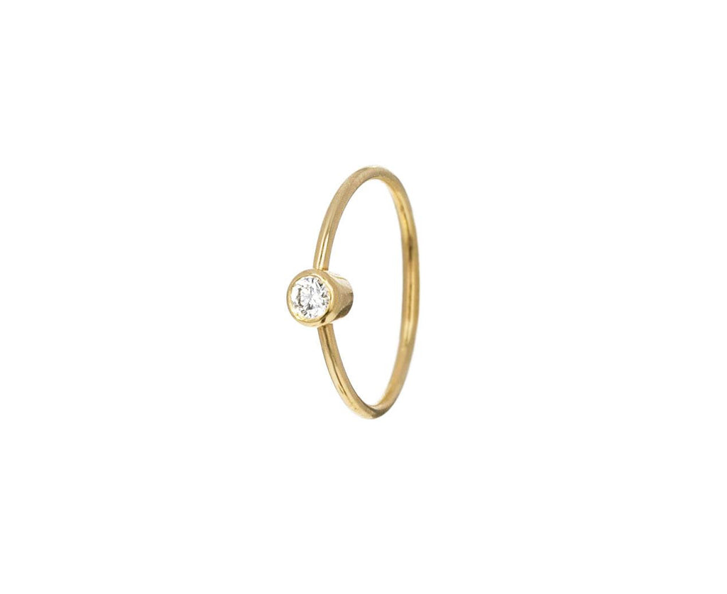 Small Diamond SINGLE Hoop Earring - TWISTonline