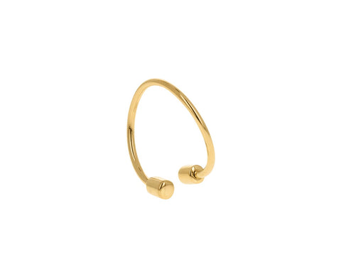 Round Twist SINGLE Earring