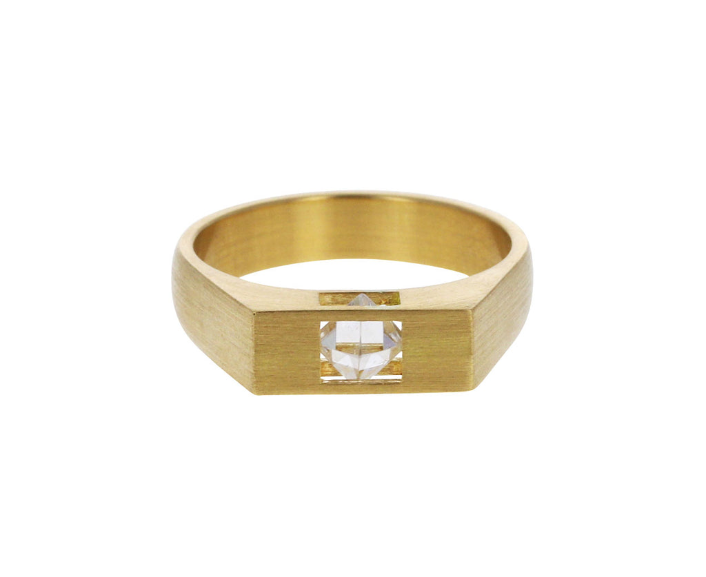 Rough Diamond Un-Signet Ring