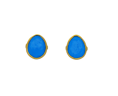 Classic Turquoise Stud Earrings