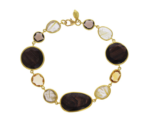 Autumn Harvest Full Stone Bracelet
